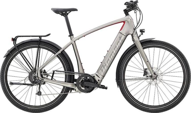 Diamant Zouma+ HER Iridiumsilber Metallic 2020 - E-Bike Trekkingrad Herren