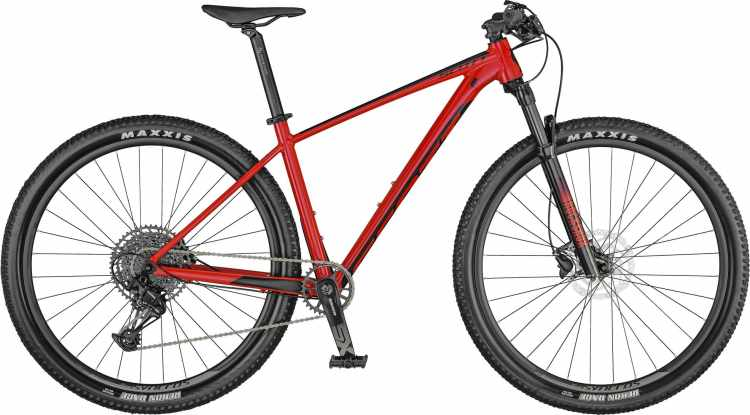 Scott Scale 970 gloss spicy red / black 2021 - Hardtail Mountainbike