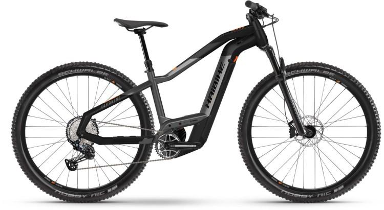 Haibike HardNine 10 i625Wh titan/black matte 2021 - E-Bike Hardtail Mountainbike