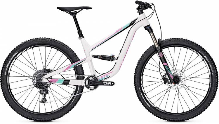 Focus Vice Pro 27 white 2017 - Damen Fully Mountainbike