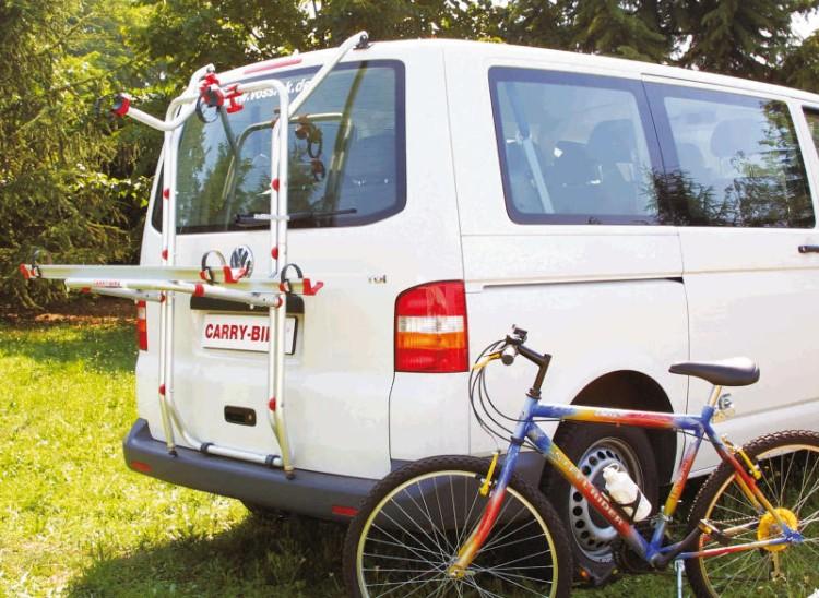 Fiamma Fahrradträger Heckklappe VW T5 Carry Bike PRO