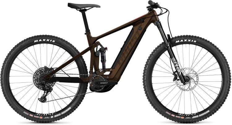 Ghost E-Riot Trail CF Advanced brown / dust 2021 - E-Bike Fully Mountainbike